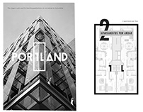Brand Identity - Portland, Vectra Construções