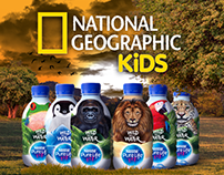 Nestlé Waters Collaboration with Nat Geo(Social Media)