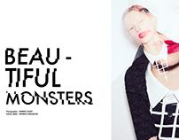 "Editorial Design -  Drew Editorial ""Beautiful Monster"""