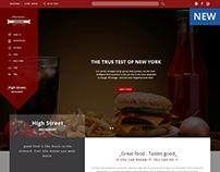 Responsive Landing Page (Restaurant Template)