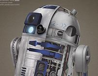 RD-D2 Starwars fanart