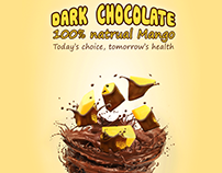 F&B poster - Mango & Chocolate product
