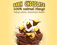 F&B poster - Mango & Chocolate product