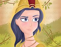Greek gods and goddesses Children's Book