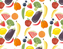 Fruit and Veg illustration