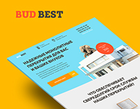 Landing page for BudBest