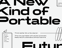 Turismo CF Typeface