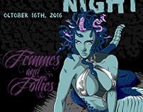 F&F Halloween Poster   Adobe Draw & Illustrator