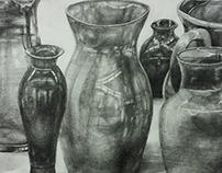 Still life drawing _ 2015 Drawing 100