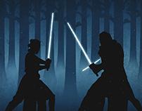 Star Wars Movie Posters II - The Force Awakens