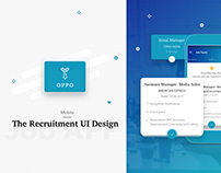 OPPO (Recruitment app concept) - UI/UX Design