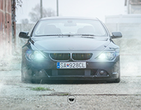 BMW E63 650 Foggy