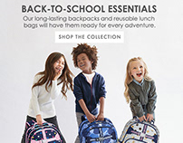 Fall Content Page for Pottery Barn Kids - Mobile