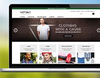 Wolftshirt Website Design