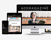 605 Magazine Website Redesign
