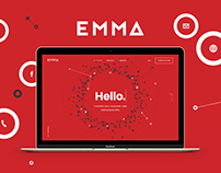 EMMA - Brand, Visual Identity, Website