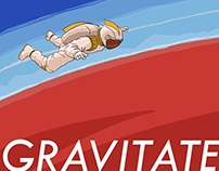 Gravitate: Custom Illustration