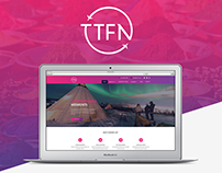 TTFN Travel Corporate Brand Identity