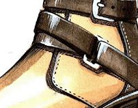 Footwear Design boot sketch