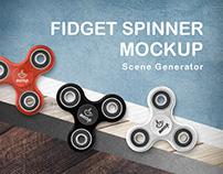 Fidget Spinner Mockup Generator