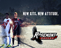 Custom soccer uniforms and Advertisement