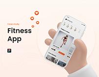UX/ UI Fitness app