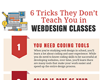 6 Tricks They Don't Teach you in Webdesign Classes