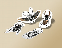 "Sticker pack ""Bugs"""