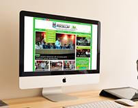 Diseño Maquetación Web   Mun. Pocollay - Tacna