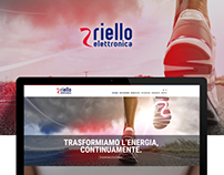 Riello Elettronica Website