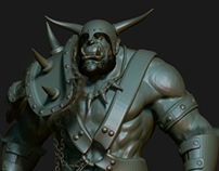 Model of an orc.