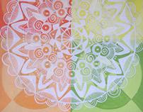 Analogous Mandala Design