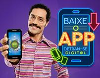 Campanha Aplicativo Detran Digital