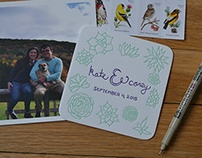 kate & corey save the dates