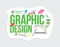 Graphic Design Sticker