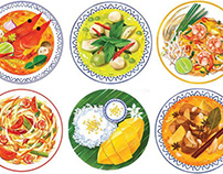 Thai Dishes (Products)