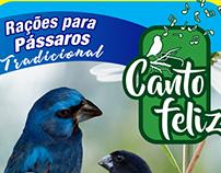 Embalagens para ração de pássaros