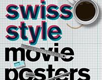 Swiss Style Minimalist Movie Posters