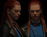 Redhead Captain [3D]