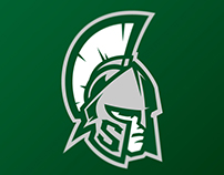 Michigan State Spartans logo concept