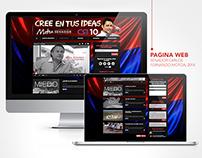 MOTOA SENADOR - Diseño pagina web y redes sociales