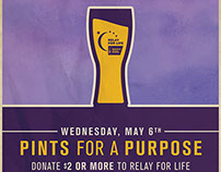 Pints for a Purpose Poster