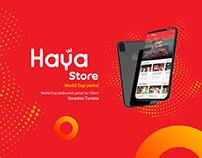 Haya Store (Ooredoo) / World Cup Portal