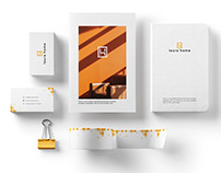 Laura Home: logo designs and branding