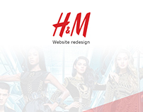 H&M - Website Redesign