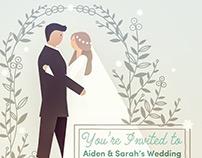 Animated Wedding GIF Invitation