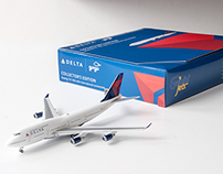 Model Airplane Packaging