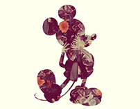 Mickey Distort 3 (Commissioned by Disney)
