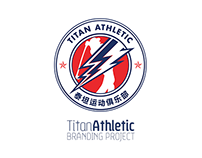 Titan Athletic Branding Concept // Golf Project