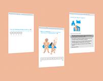 Playful digital questionnaire for children